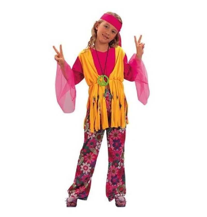 Comprar Disfraz hippie chica Infantil