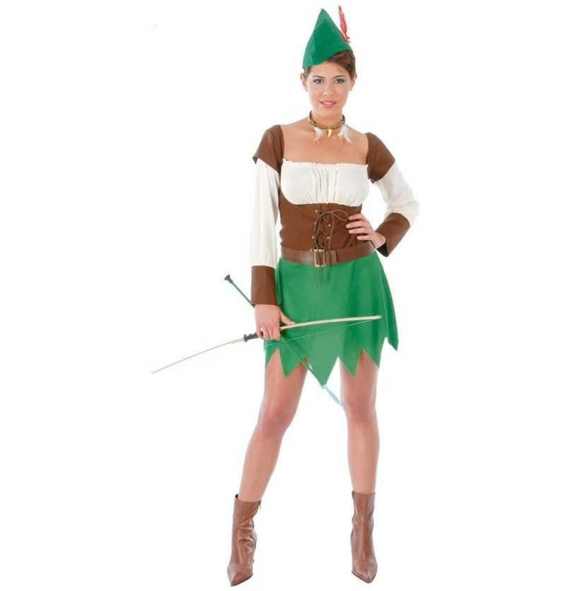 Comprar Disfraz de Arquera adulto - Robin Hood