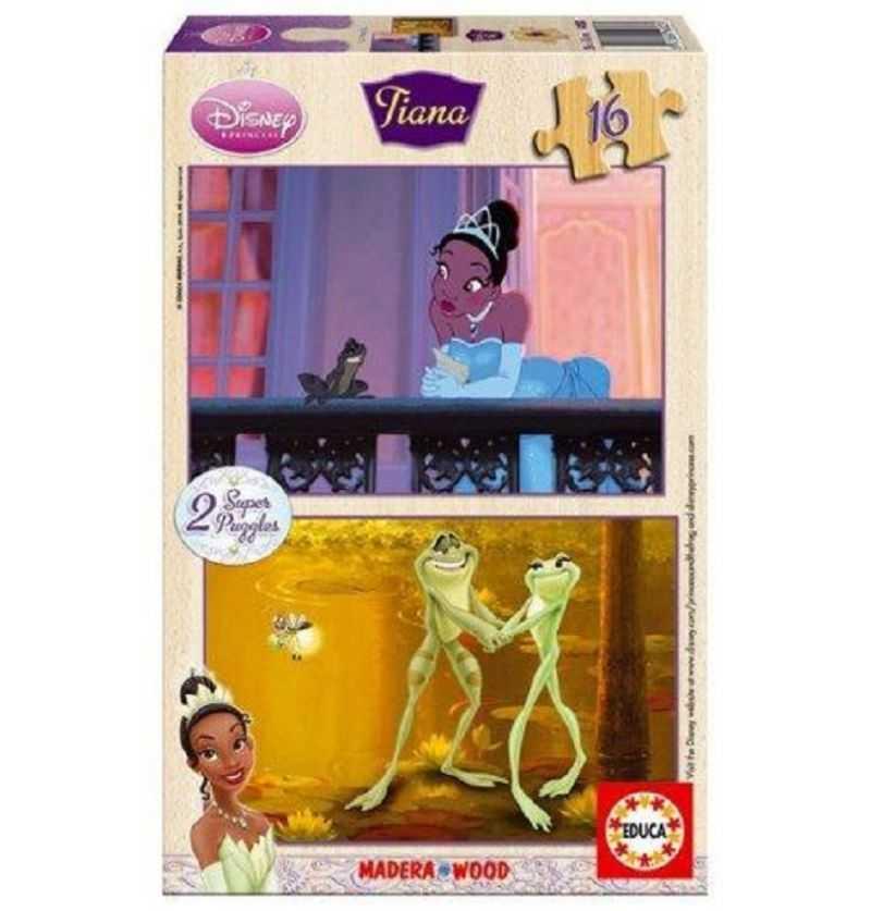 Comprar Puzzle 16 piezas Princesa Tiana de Madera