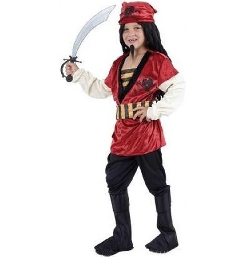 Comprar Disfraz Pirata Rojo Niño