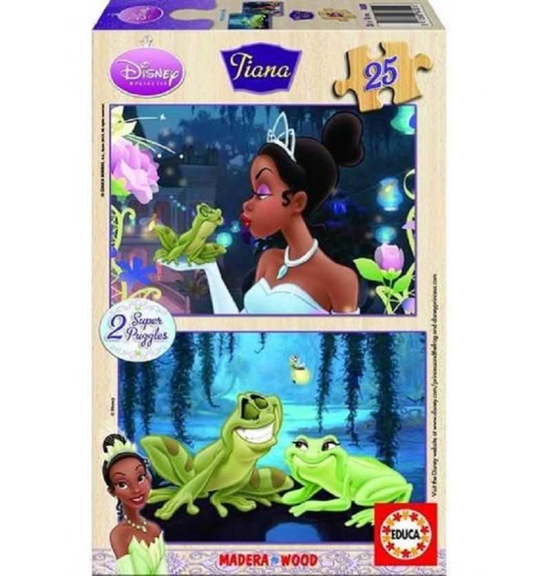 Comprar Puzzle 25 piezas Tiana Madera Princesa Diney