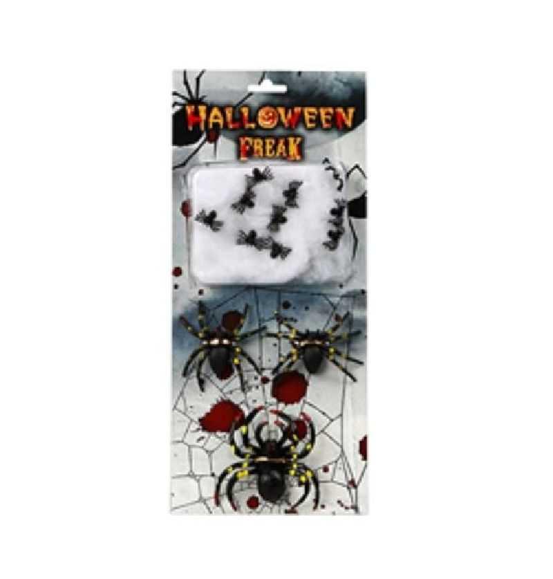 Comprar Set decoración Arañas Halloween