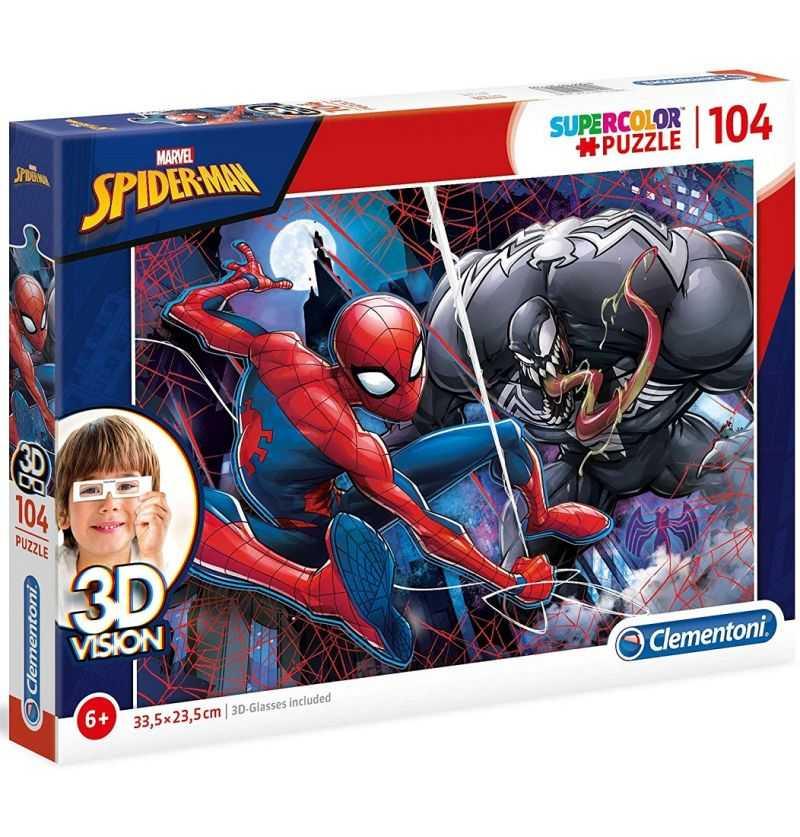 Comprar Puzzle 104 Piezas Spiderman Marvel