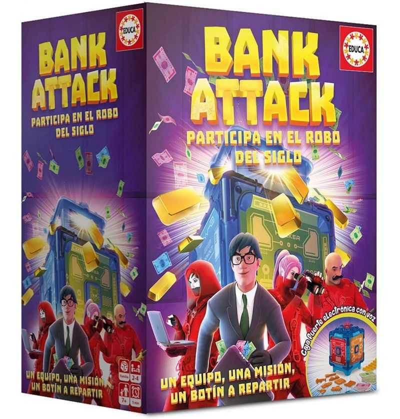 Comprar Juego de Mesa Bank Attack