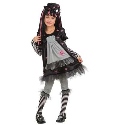 Comprar Disfraz Black Dolly Halloween infantil