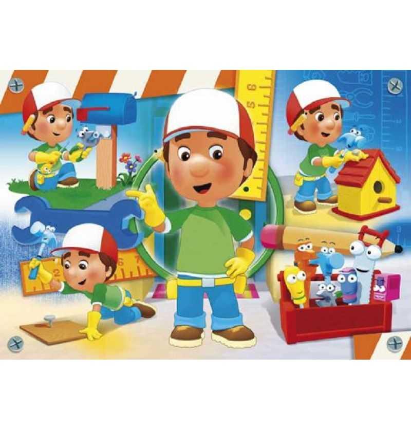 Comprar Puzzle 104 piezas Handy Manny Disney