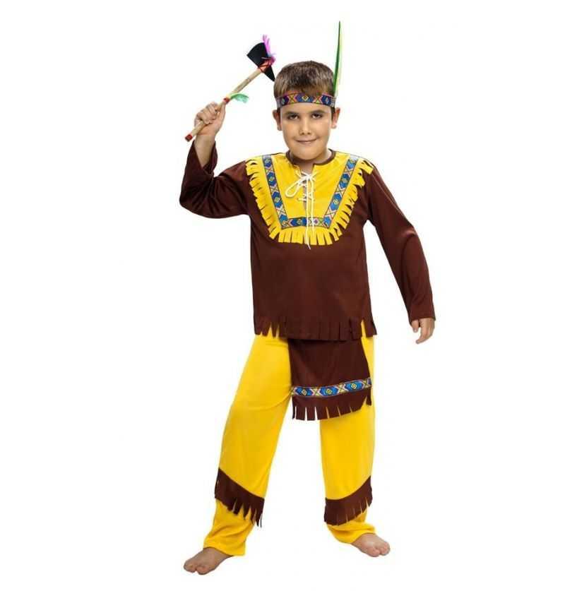 Comprar Disfraz Indio Infantil Marrón