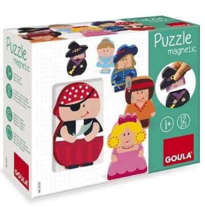 Comprar Puzzle Personajes Magneticos Goula