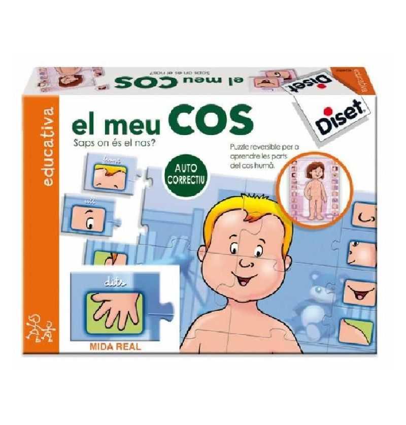 Compra Joc puzzle educatiu El Meu Cos
