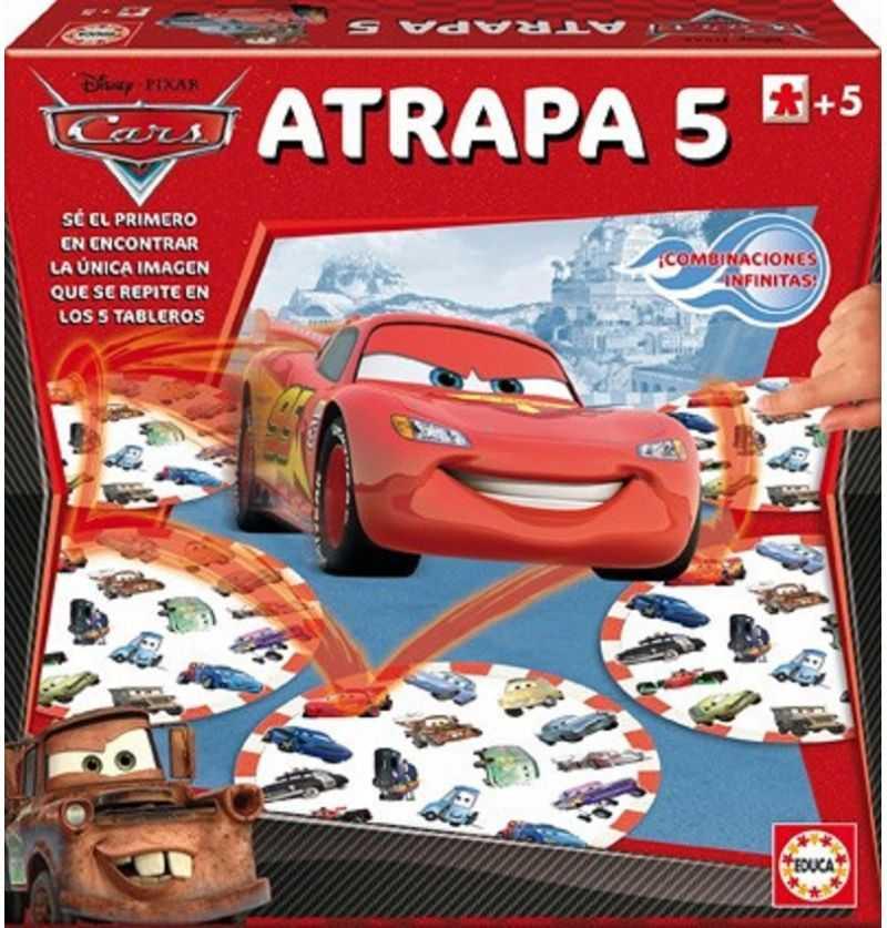 Comprar Juego de Mesa Atrapa 5 Cars