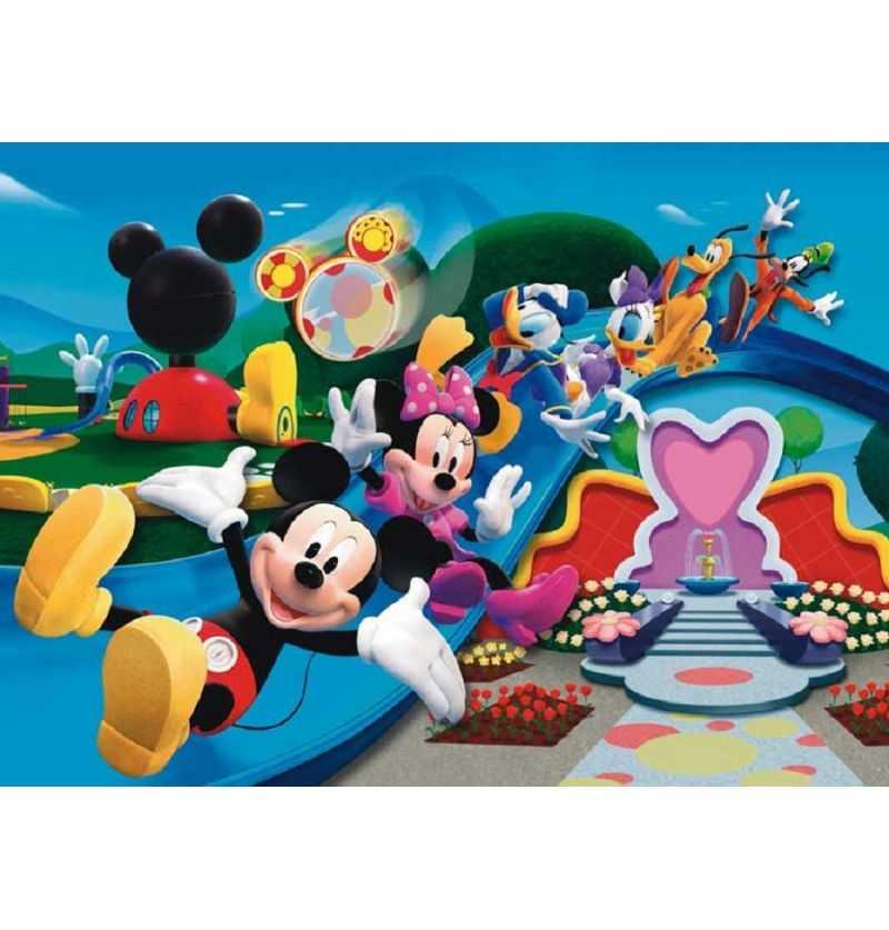 Comprar Puzzle 104 piezas Mickey Disney Tobogan