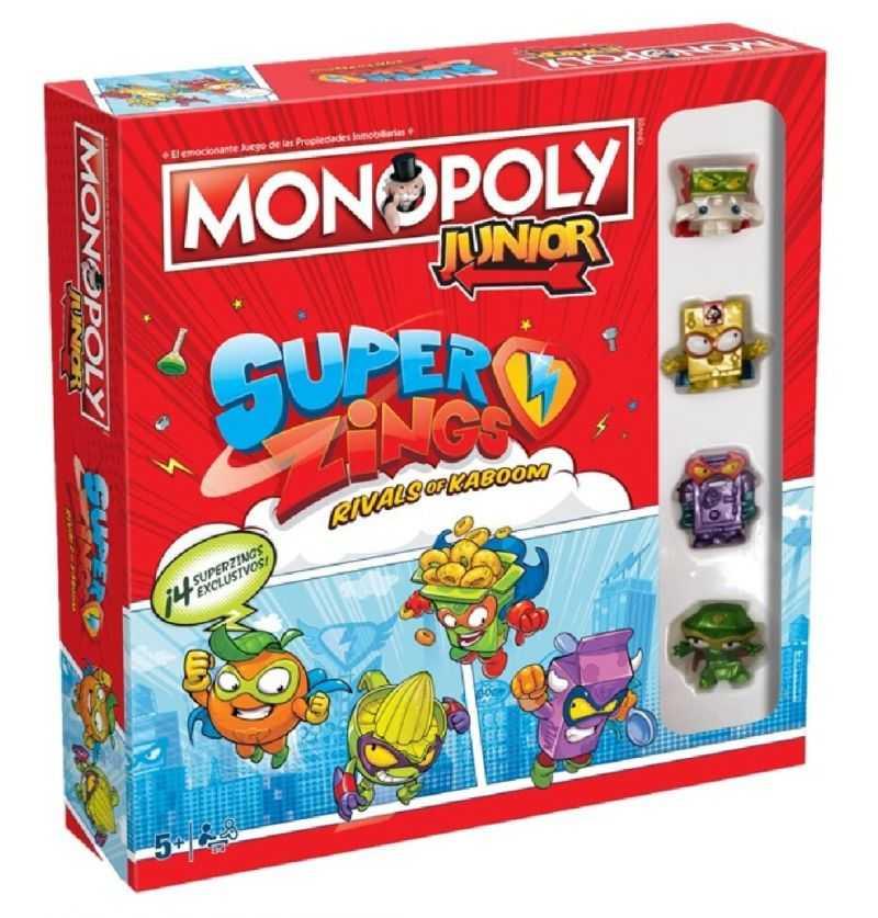 Comprar Juego Monopoly Junior Superzings