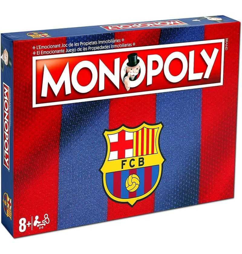 Comprar Juego Monopoly Futbol Club Barcelona