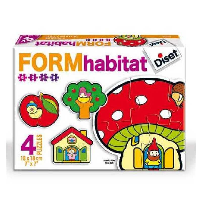 Comprar Juego puzzle Form Habitat