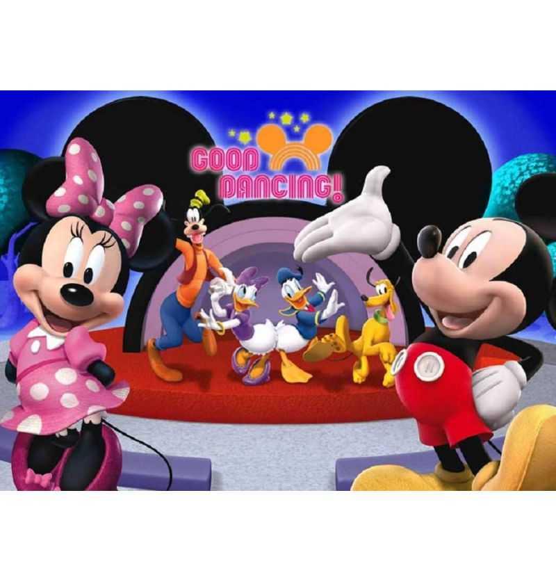 Comprar Puzzle 104 piezas Mickey Bailando Disney