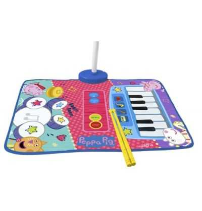 Comprar Alfombra Batería Musical y Piano Peppa Pig