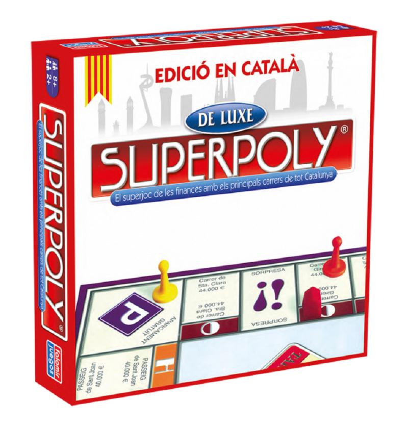 Comprar Juego de Mesa Superpoly Luxe Catalan imitacion Monopoly