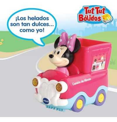 Comprar Camión Helados de Minnie Disney Tut Tut Bolidos