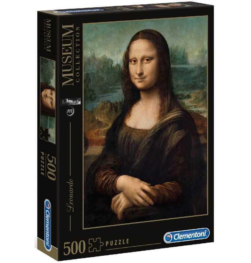 Comprar Puzzle 500 Museo Louvre Leonardo Gioconda Mona Lisa