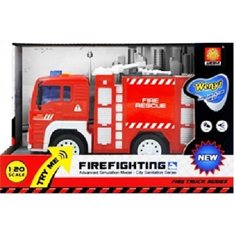 Comprar Camión Bomberos con Autobomba con sonidos Infantil