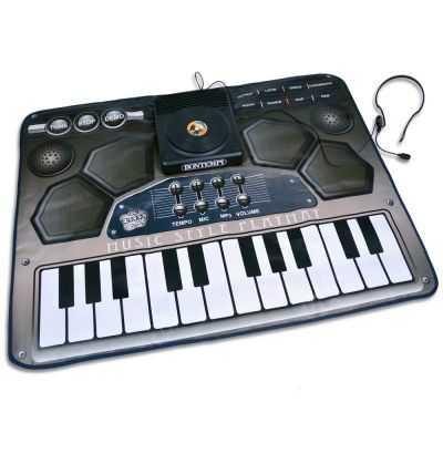 Comprar Tapete Musical Infantil con Micro y efectos mezcladora