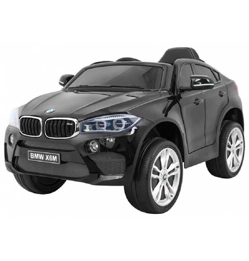 Comprar Coche Eléctrico Infantil BMW X6M 12V 2.4G Negro Metalizado