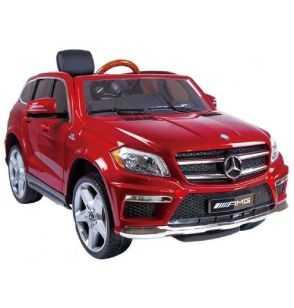 Comprar Coche Eléctrico Infantil Mercedes GL63 12V MP4 Rojo Metalizado Versión Super Luxe