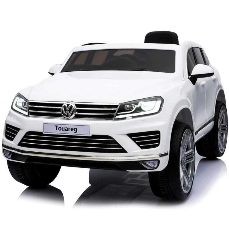 Comprar Coche Eléctrico Infantil Volkswagen Touareg 12V Blanco