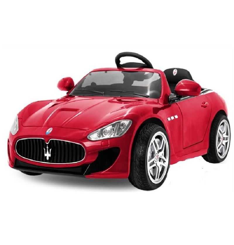 Comprar Coche Eléctrico Infantil Maserati Gran Turismo Rojo 12V 2.4G