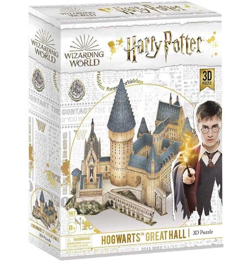 Comprar Puzzle 3D Gran Salón de Hogwarts Harry Potter