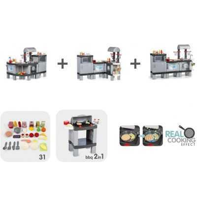 Comprar Cocina gris Infantil Real Cooking XL con luces led y sonidos