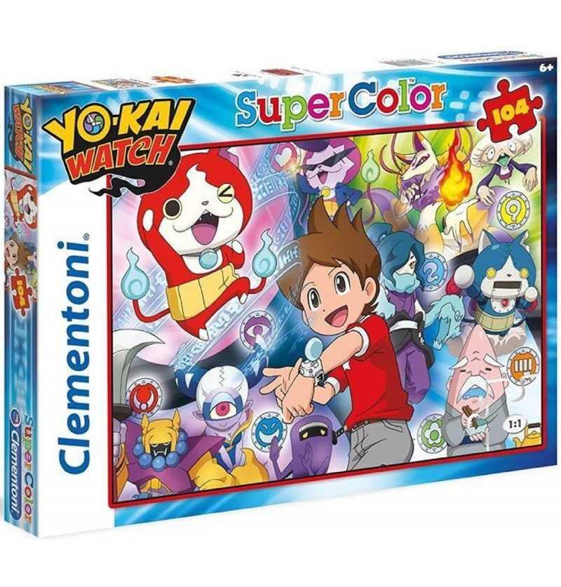 Comprar Puzzle 104 piezas Yo-Kai Watch Reloj