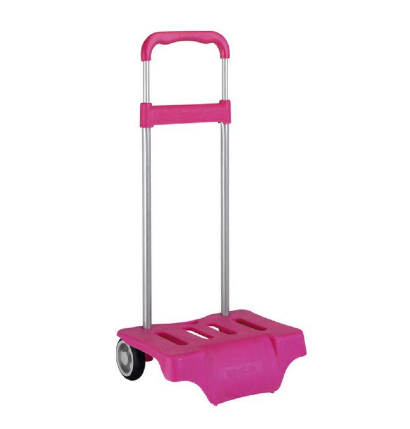 Comprar Carro Trolley Para Mochila Escolar rosa Magenta