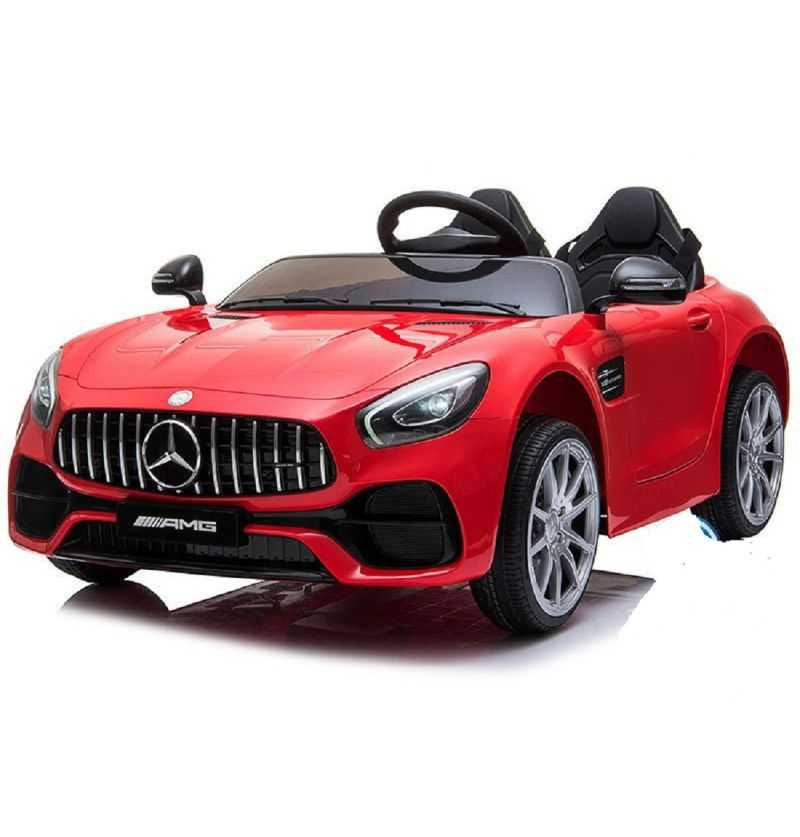 Comprar Coche eléctrico Infantil Mercedes Amg Gt 12v 2 plazas rojo