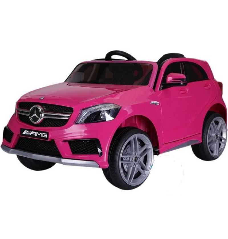 Comprar Coche eléctrico Infantil Mercedes A45 12v 2.4g rosa