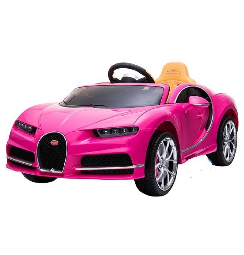 Comprar Coche eléctrico Infantil Bugatti Chiron 12v 2.4g rosa