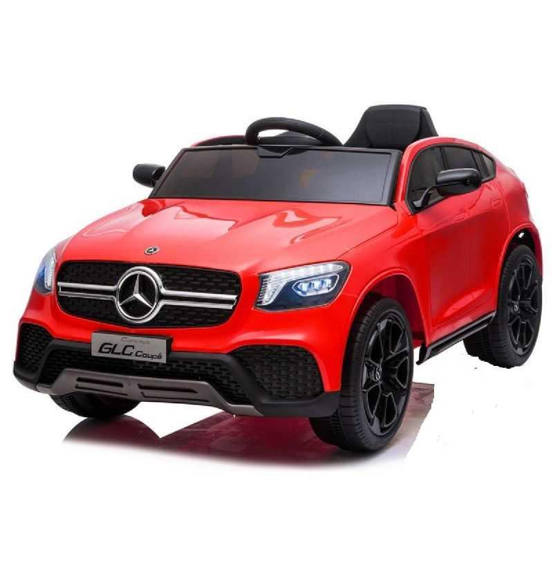 Comprar Coche eléctrico Infantil Mercedes Glc Coupe mp4 12v 2.4g rojo