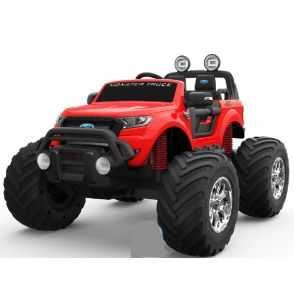 Comprar Coche Eléctrico Infantil Ford Monster Truck rojo