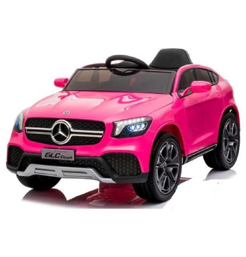 Comprar Coche Eléctrico Infantil Mercedes Glc Coupe mp4 mp4 12v 2.4g rosa