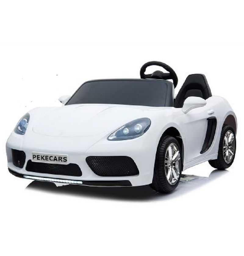 Comprar Coche Eléctrico Infantil deportivo Pekecars xl 24v blanco