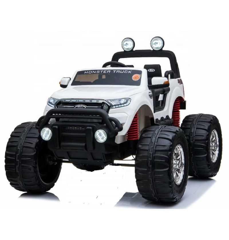 Comprar Coche Eléctrico Infantil Ford Monster Truck 12v 2.4g blanco