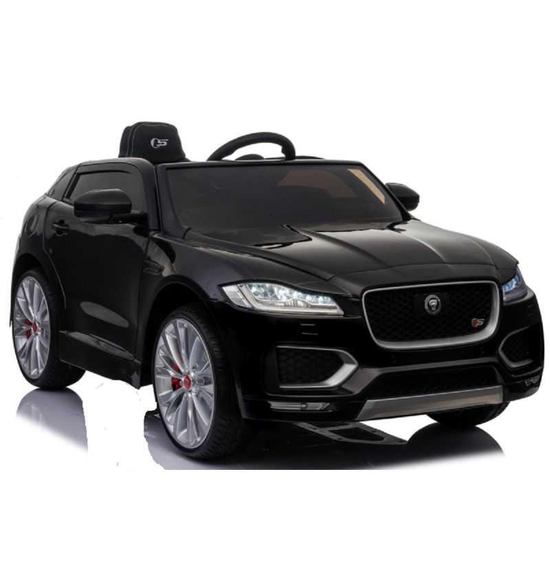Comprar Coche Eléctrico Infantil Jaguar F-pace 12v 2.4g negro metalizado