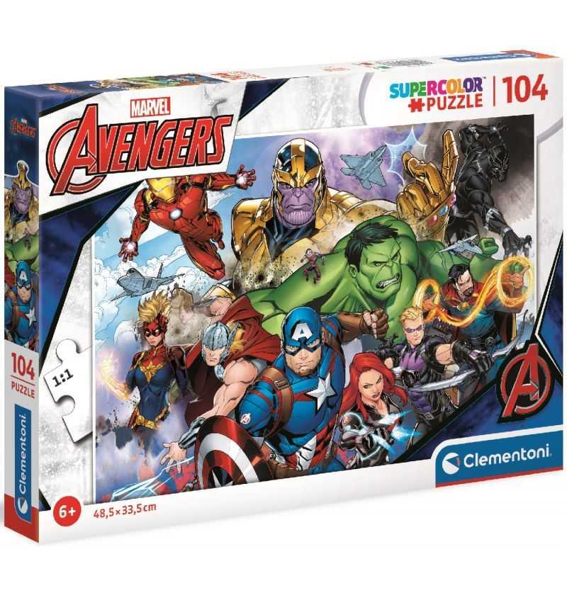 Comprar Puzzle 104 piezas Avengers