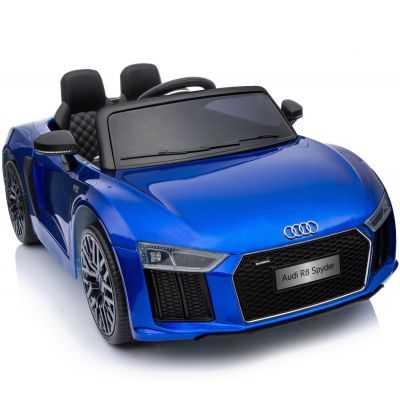 Comprar Coche Eléctrico Infantil Audi Little R8 Spyder 12v 2.4g azul metalizado