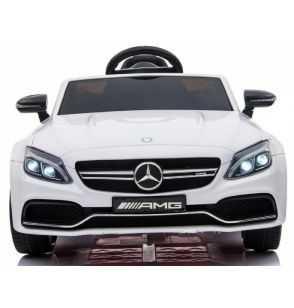 Comprar Coche Eléctrico Infantil Mercedes C63 12v 2.4g blanco