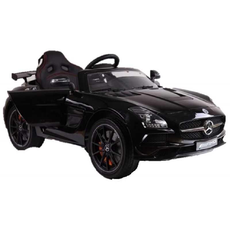 Comprar Coche Eléctrico Infantil Mercedes SLS 12v con mp4 negro