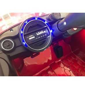 Comprar Coche Eléctrico Infantil Mini Style 12v 2.4g Rojo metalizado