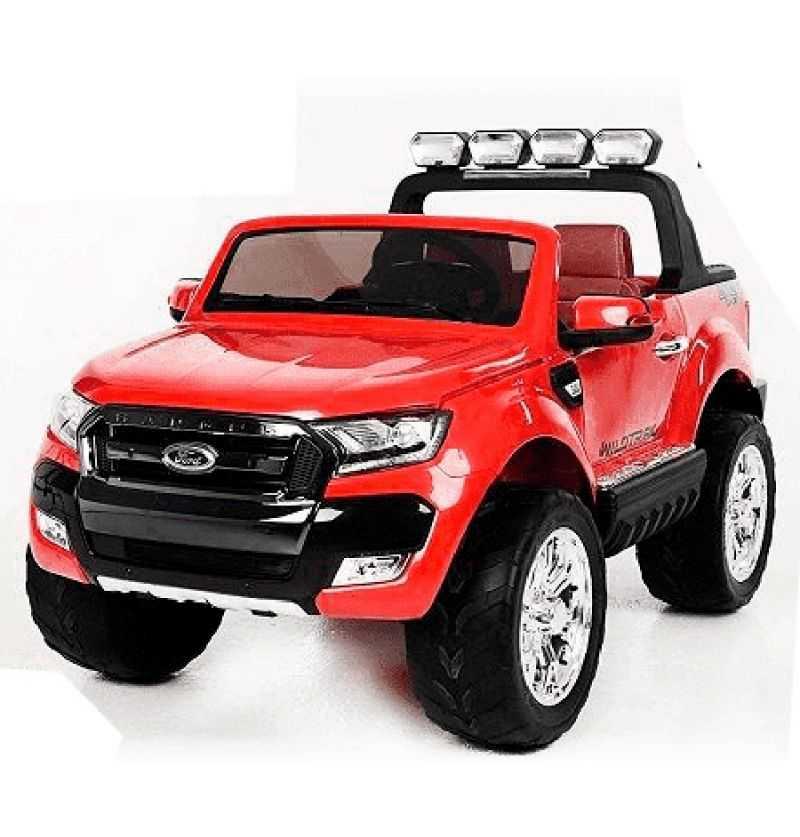 Comprar Coche Eléctrico Infantil Ford Ranger con mp4 12v 2.4g Rojo