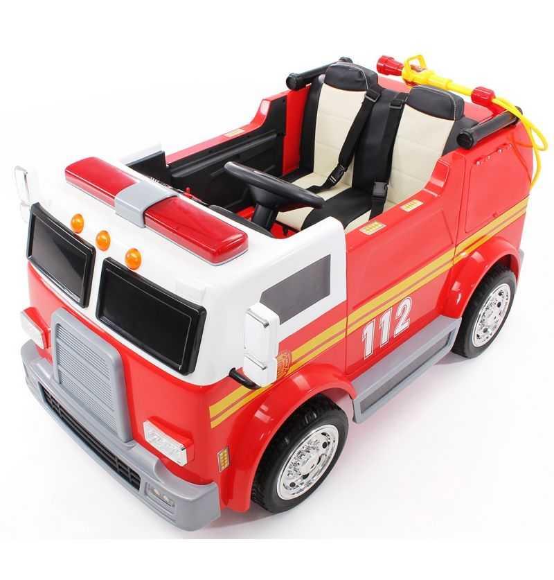 Comprar Camión Eléctrico Infantil de Bomberos 2 plazas 12v 2.4g