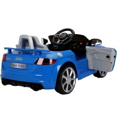 Comprar Coche Eléctrico Infantil Audi TT RS 12v 2.4g Azul